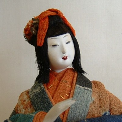 Antique Japanese Doll, Merchant's Daughter