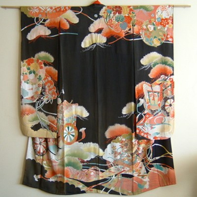 Early Taisho Japanese Wedding Kimono