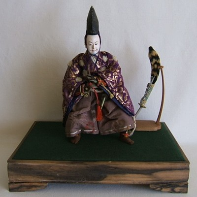 Antique Japanese Samurai Doll, Taisho
