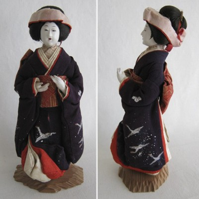 Antique Anese Bride Doll Early 1900