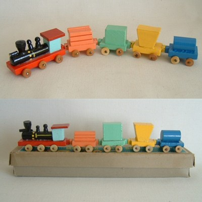 Shackman Magnetic Train Set, MIB