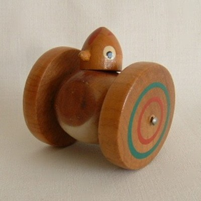 Pigeon Whistle on Wheels