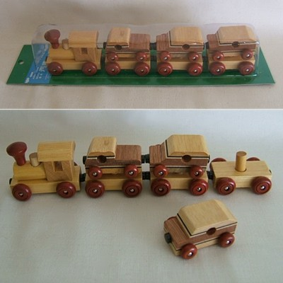 Japanese Wooden Train/Trucks