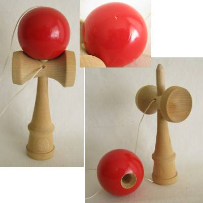 Kendama, Traditional Japanese Wooden Toy