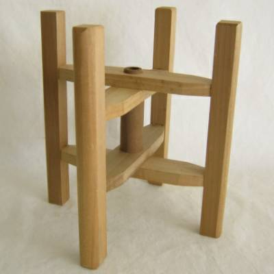 Wooden Thread Spool (Itomaki), Large Folding