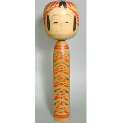 Togatta Traditional Kokeshi, 12-1/4""