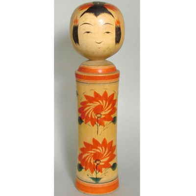 Narugo Traditional Kokeshi, 9-5/8""