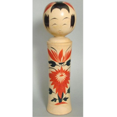 Narugo Traditional Kokeshi, 9-3/4""