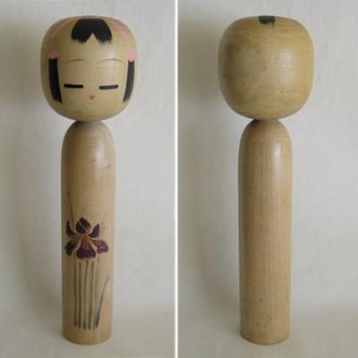 Creative Kokeshi, Flower Series #3