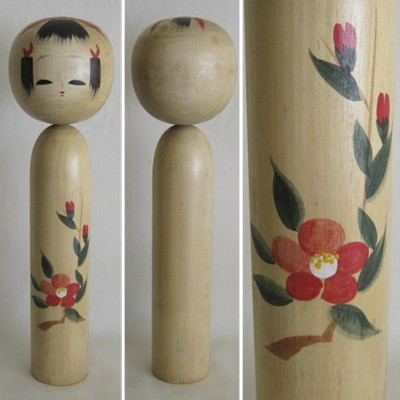 Creative Kokeshi, Flower Series #4