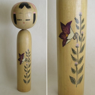 Creative Kokeshi, Flower Series #6