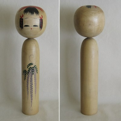 Creative Kokeshi, Flower Series #8