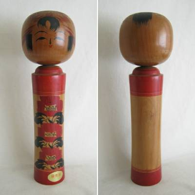 Creative Kokeshi, Dark Wood, 12""