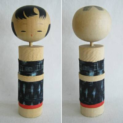 Creative Kokeshi Kasuri Cloth