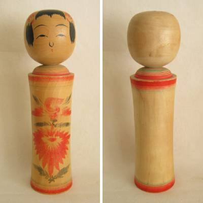 Narugo Traditional Kokeshi, 9-3/8""