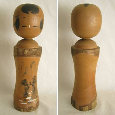 Creative Kokeshi, Bark & Scenery, 12""