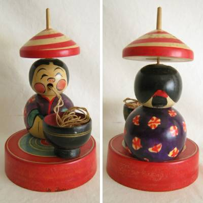 "Creative ""Kokeshi"" Traditional Toy"