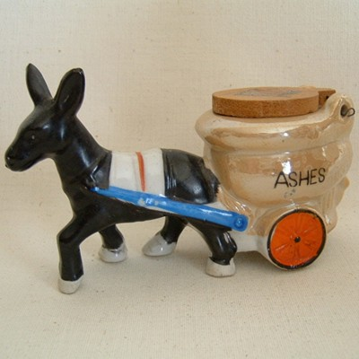 Donkey with Ash Bowl