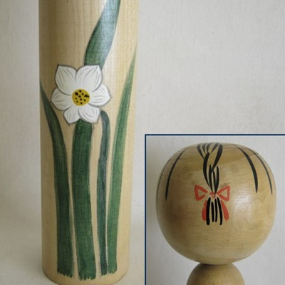 Creative Kokeshi, Flower Series #5