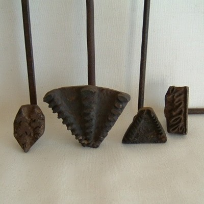 ON HOLD:  Pastry Branding Irons