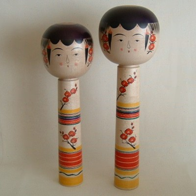 "Yajiro Traditional Japanese Kokeshi, 12"" - 2006 Prize Winner!"