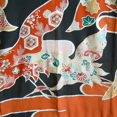 Art Deco Antique Japanese Taisho Wedding Kimono