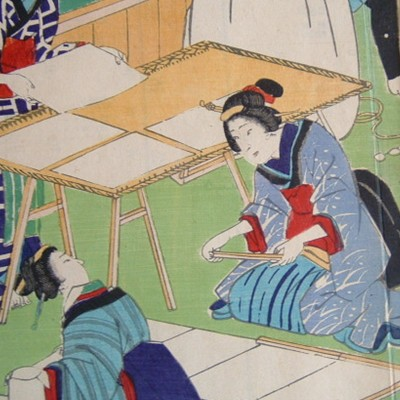 Woodblock Print by Eikyu