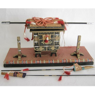 Antique Japanese Hina Palanquin