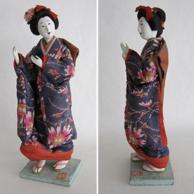 Antique Japanese Doll, Young Woman
