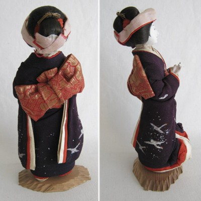 Antique Japanese Bride Doll, Early 1900's, RARE!!