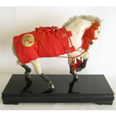 "Antique Japanese Horse, ""Formal"""