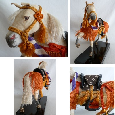 "Antique Japanese Horse ""Doll"" #32852"