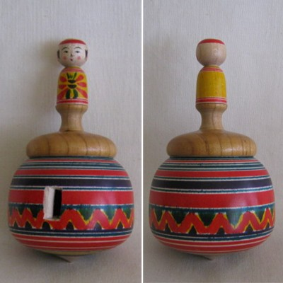 Yajiro Whistling Top Kokeshi