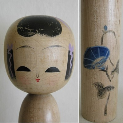 Creative Kokeshi, Flower Series #2
